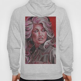 Dolly Parton in Pink Hoody