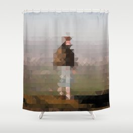 Knock Shower Curtain