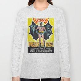 vintage movie poster comics Long Sleeve T-shirt