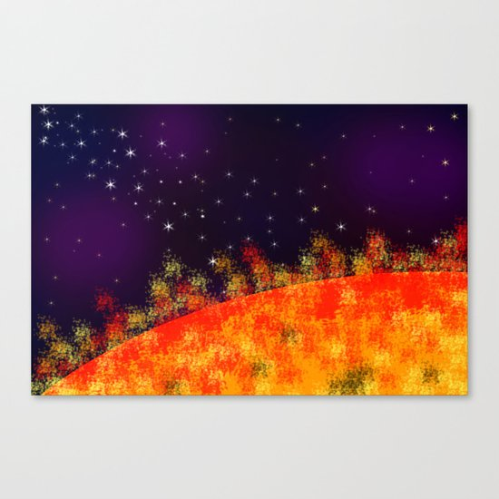 Far From Home 2 Canvas Print