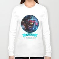 league of legends Long Sleeve T-shirts featuring League Of Legends - Blitzcrank by TheDrawingDuo