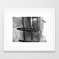cage Framed Art Prints featuring Cage by Robin Stevens