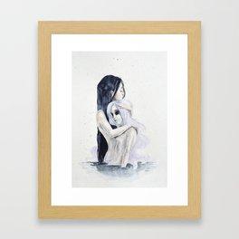 Internal consolation Framed Art Print