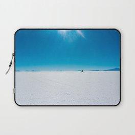 In the Distance, Salar de Uyuni, Bolivia Salt Flats Laptop Sleeve