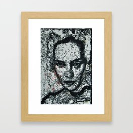 Synapse Framed Art Print