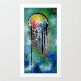 jellyglitch Art Print