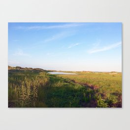 """""""Afternoon at the Marsh, Tybee Island, Georgia"""" by Simple Stylings Canvas Print"""