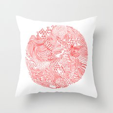 Earthquake Throw Pillow