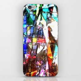 Light Streaming Through Stained Glass iPhone Skin
