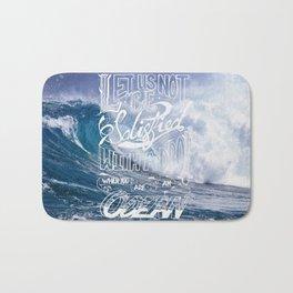 Satisfied Ocean Bath Mat
