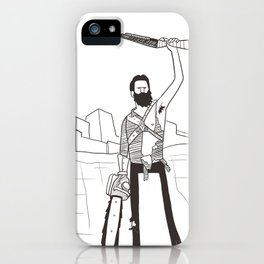 Hail to the Beard, baby iPhone Case