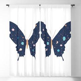 Cosmic Butterfly Blackout Curtain