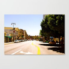 In the Street Canvas Print