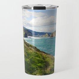 Basque Country coast landscape Travel Mug