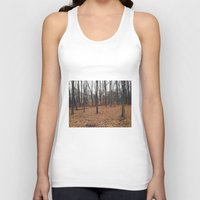 indiana Tank Tops featuring Indiana Forest by Kurt Rahn