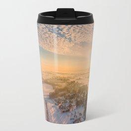 Floating Sunrise Travel Mug