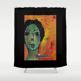 Balances Shower Curtain