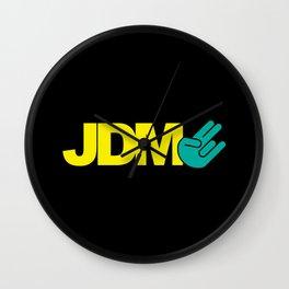 JDM shocker v2 HQvector Wall Clock