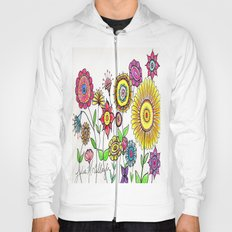 Bright Flowers Hoody
