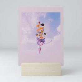 Dreamers in the clouds Mini Art Print
