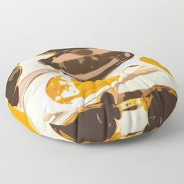Let the sun shine - welcome spring and summer! Floor Pillow
