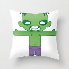 HULK ROBOTIC Throw Pillow