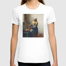 Vermeer - The Milkmaid T-shirt
