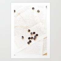 letters Art Prints featuring Letters by Colleen Farrell