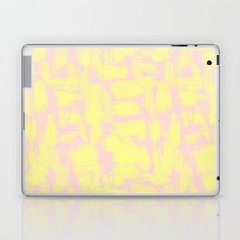 pink yellow Laptop & iPad Skin