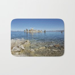 Mono Lake Tufa, No. 2 Bath Mat