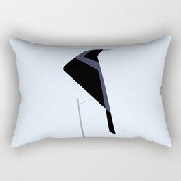 Tordo / Austral blackbird Rectangular Pillow