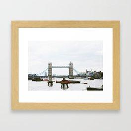 London Bridge (Ain't Falling Down) Framed Art Print