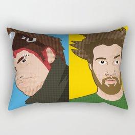 Vector Tribute to Le Visiteur Du Futur Rectangular Pillow