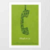 Matrix Fan Poster Art Print