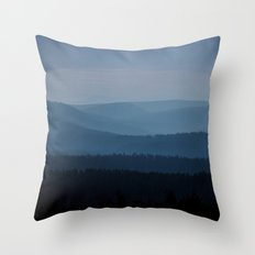 Counting the layers Throw Pillow