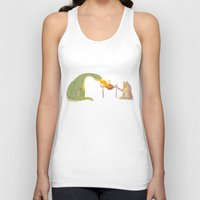 friendship Tank Tops featuring Friendship by Chiara Sgatti