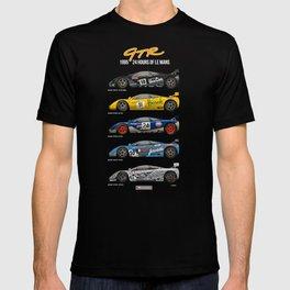 The McLaren 5 - 1995 Le Mans Winner + 4 Finishers T-shirt