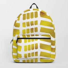 Gold bricks Backpack