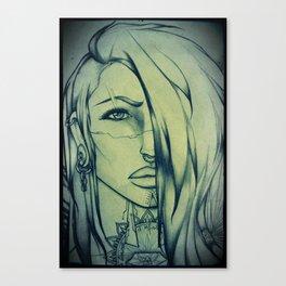 Jackal spirit Canvas Print