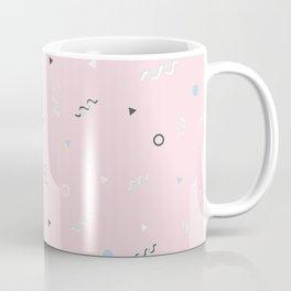 Messy Pattern_Pink Version Coffee Mug