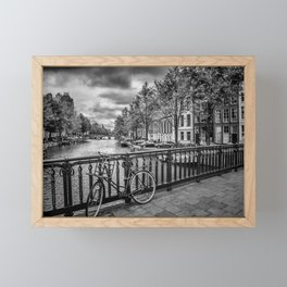 AMSTERDAM Emperors canal Framed Mini Art Print