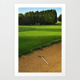 East Brighton Golf Course Art Print