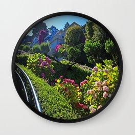 Lombard Street views  Wall Clock