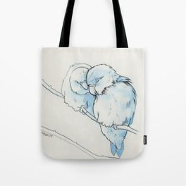lovebirds (1) Tote Bag