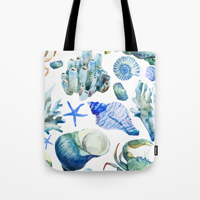 Sea Life Pattern 05 Tote Bag