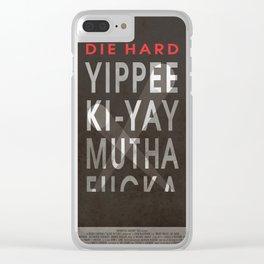 Die Hard Clear iPhone Case
