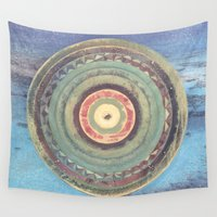 holiday Wall Tapestries featuring Holiday by Laurie McCall