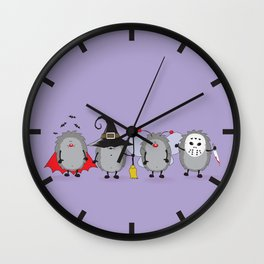Ready for Halloween Wall Clock