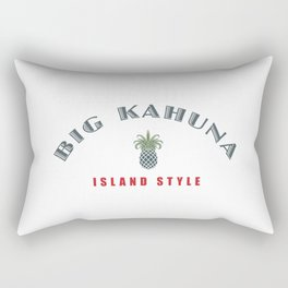Big Kahuna Island StylePineapple Rectangular Pillow