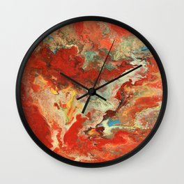 Abstract Oil Painting 2 Wall Clock
